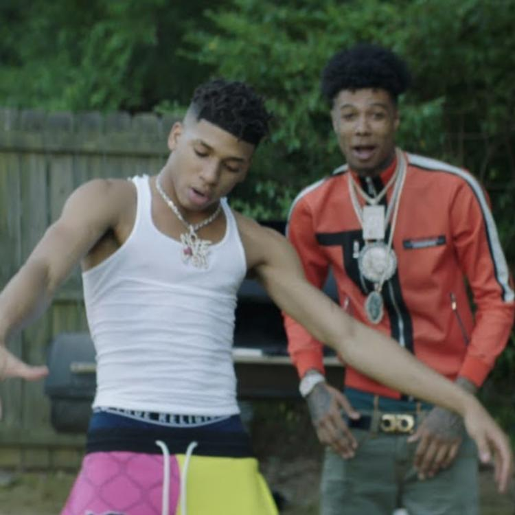 Blueface Assists NLE Choppa On The
